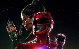 Preview wallpaper Power Rangers, heroes