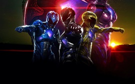 Preview wallpaper Power Rangers, super heroes
