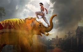 Preview wallpaper Prabhas, Baahubali 2: The Conclusion