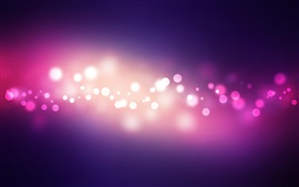 Preview wallpaper Purple circles, glare, light, abstract