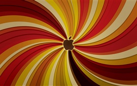 Striped lines background, Apple theme