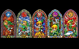 Preview wallpaper The Legend of Zelda, black background
