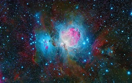 Preview wallpaper The Orion Nebula, beautiful space, stars
