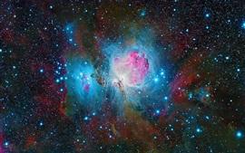 Туманность Ориона, красивое пространство, звезды