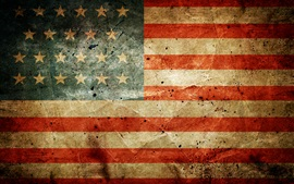 Preview wallpaper United States flag