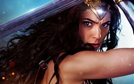 Preview wallpaper Wonder Woman, Gal Gadot, 2017 movie