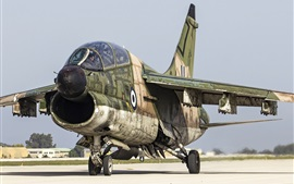 Preview wallpaper A-7 Corsair II attack aircraft