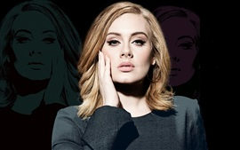 Aperçu fond d'écran Adele 07