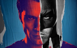 Preview wallpaper Batman v Superman, comics, art