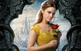 Preview wallpaper Beauty and the Beast 2017, Emma Watson