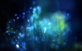 Preview wallpaper Blue style abstract background, glare, spot light