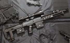 DSR-1 sniper rifle, weapon