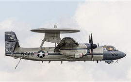Preview wallpaper E-2C Hawkeye radar plane