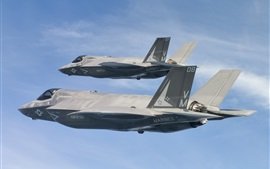 Preview wallpaper F-35B bombers, Lightning II