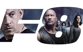 Preview wallpaper Fast and Furious 8