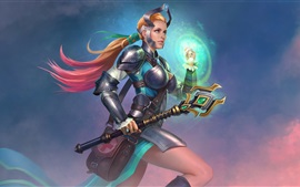 Preview wallpaper Juggernaut Wars, girl, warrior