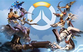 Preview wallpaper Overwatch, popular PC games