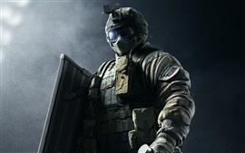 Rainbow Six, fuerzas especiales, soldado
