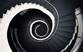 Escaleras en espiral