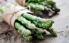 Vegetables, green asparagus