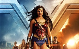 Preview wallpaper Wonder Woman, 2017 movie HD
