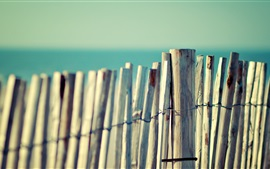 Preview wallpaper Wooden fence close-up