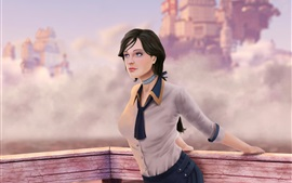 Preview wallpaper Bioshock Infinite, Elizabeth, beautiful girl, art picture