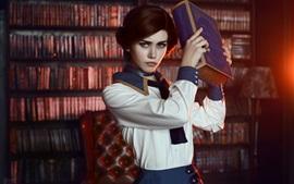 预览壁纸 生化奇兵无限,伊丽莎白,角色扮演女孩