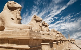 Egypt, sculptures, desert