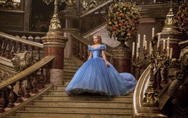Preview wallpaper Lily James, Cinderella