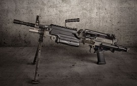 Preview wallpaper M249 SAW machine gun, weapon