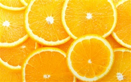 Preview wallpaper Orange slices, delicious fruit