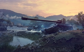 Preview wallpaper World of Tanks, net games