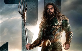 Preview wallpaper Aquaman, Justice League 2017