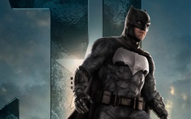 Preview wallpaper Batman, Justice League 2017