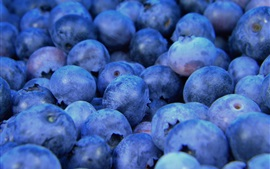 Preview wallpaper Blueberries macro, fruit photography