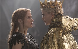 Preview wallpaper Charlize Theron, Jessica Chastain, The Huntsman: Winter's War
