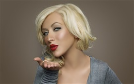 Preview wallpaper Christina Aguilera 20