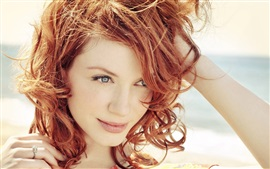 Preview wallpaper Christina Hendricks 02