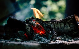 Preview wallpaper Coal, fire