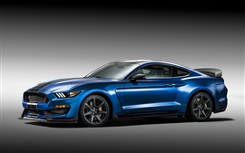 Ford Mustang Shelby GT350R azul supercar