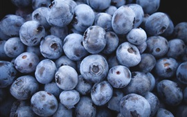 Fresh blueberries, fruit