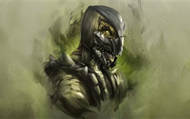 Preview wallpaper Mortal Kombat, art picture