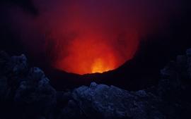 Никарагуа, вулкан Масая, лава