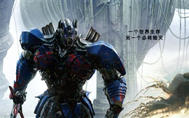 Preview wallpaper Optimus Prime, Transformers: The Last Knight