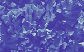 Preview wallpaper Paper folds, abstract triangles geometric