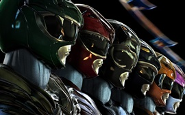 Aperçu fond d'écran Film de science-fiction Power Rangers 2017