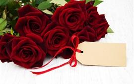 Красные розы, романтика, подарок