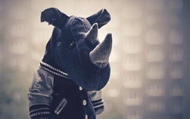 Preview wallpaper Rhinoceros toy