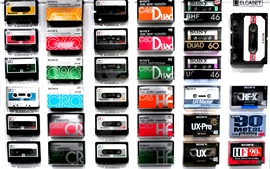 Preview wallpaper Sony cassette tapes collection